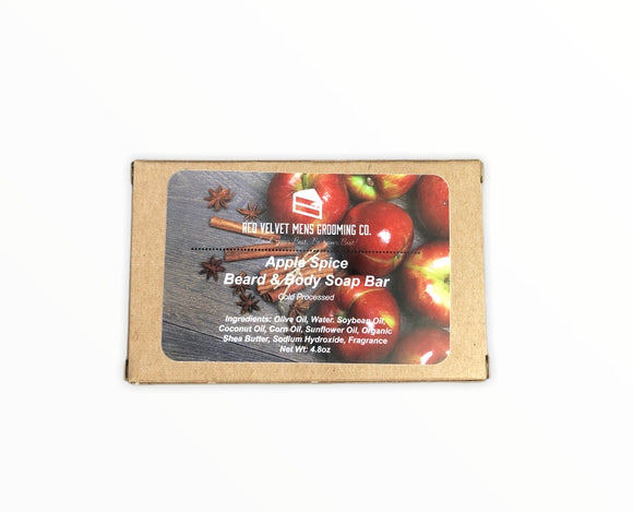 APPLE SPICE BEARD & BODY SOAP BAR