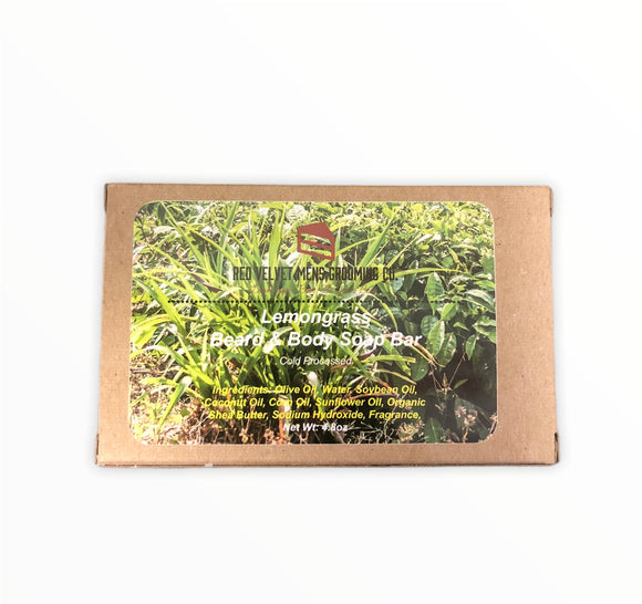 LEMONGRASS BEARD & BODY SOAP BAR
