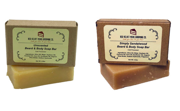 BEARD AND BODY SOAP BUNDLE
