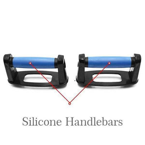 9 in 1 push up board silicone handlebars