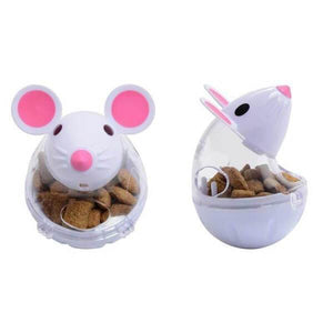 cute mouse treat dispenser for cat