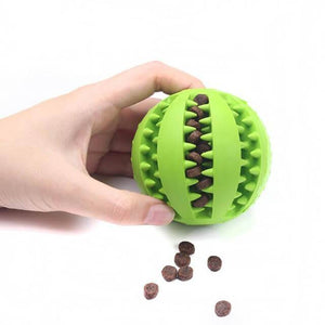 dog treat toy ball dog tooth cleaning toy