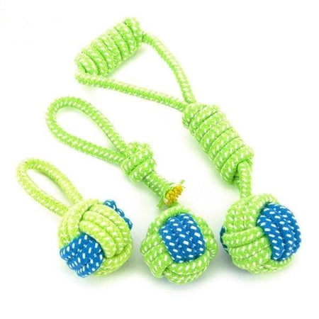Dog Rope Toys, give your pupper a chewing challenge and a tug toy