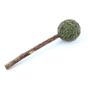 natural mint lollipop catnip treat for cats