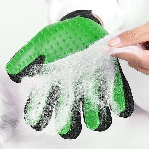 Silicone Pet Gentle Deshedding Glove Pet Grooming Glove