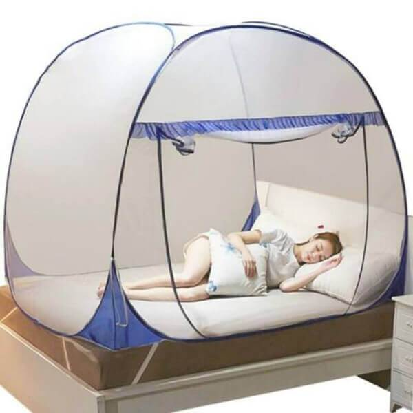 anti-mosquito pop up mesh tent for good sleeping