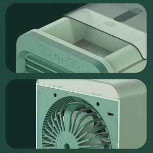 rechargeable water-cooled air conditioner details