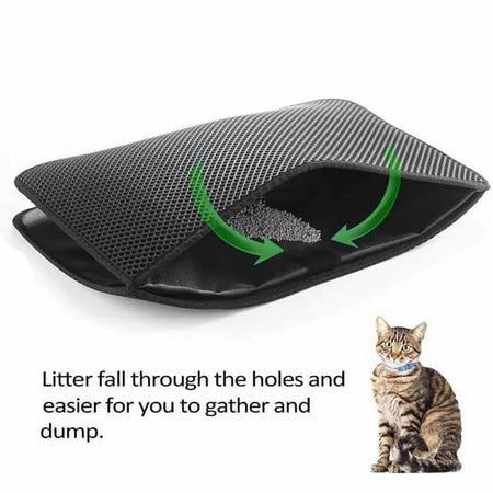 cat litter mat three methods easy to clean
