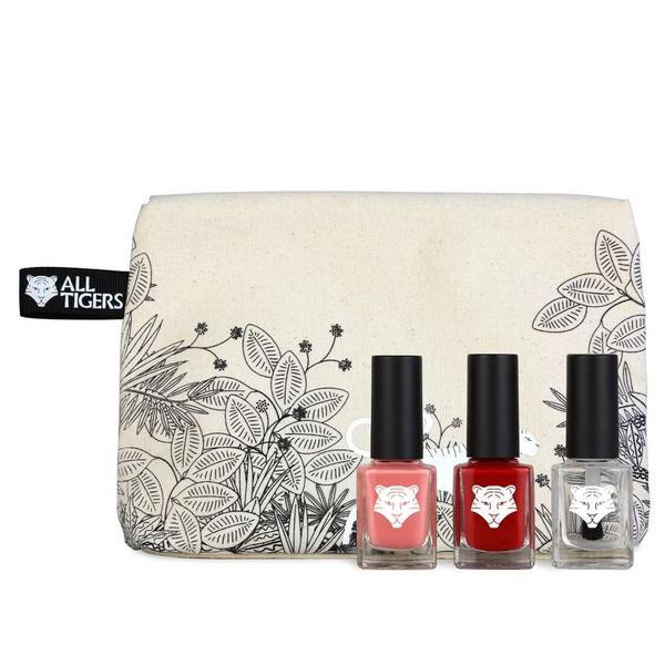Coffret 3 vernis All Tigers - Nuoo