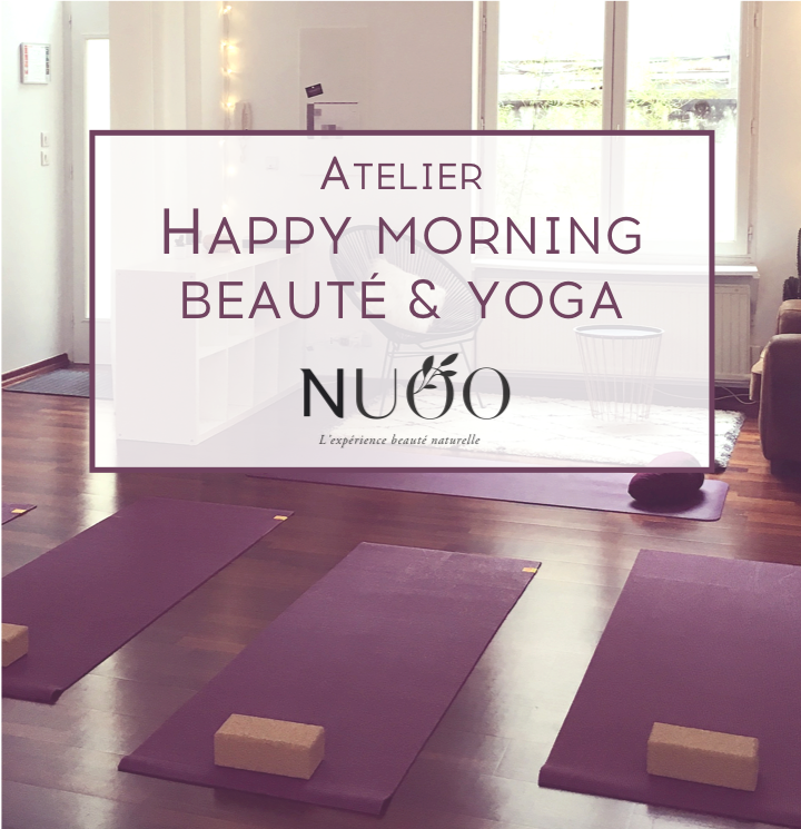 Happy Morning dynamisante Beauté & YOGA - Nuoo
