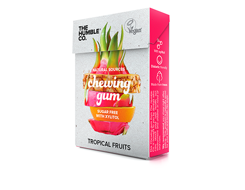 Chewing gum naturels tropical
