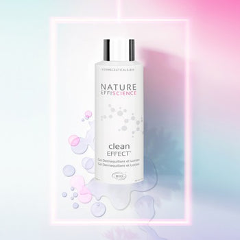 Nature Effiscience - Eaux micellaires - Nettoyant visage bio Clean effect - Nuoo