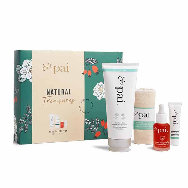 Coffret Natural Treasures - routine peau sensible - Nuoo