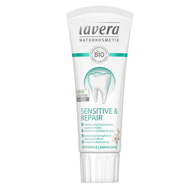 Dentifrice Sensitive & Repair à la camomille bio et au fluorure de sodium
