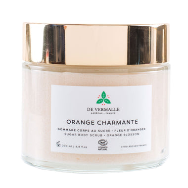 Gommage corps charmante orange