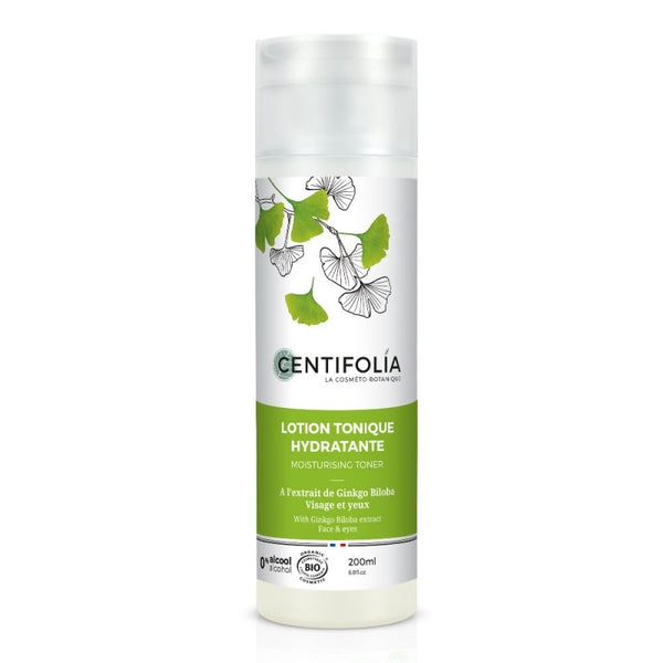 Lotion tonique hydratante bio