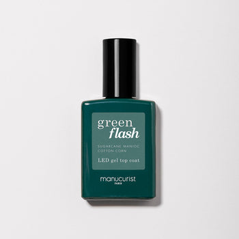 Top Coat Green FLASH - Gamme semi permanent