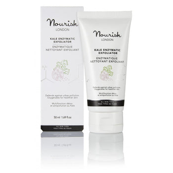 Nourish london - Gels nettoyants - Nettoyant exfoliant enzymatique Kale - Nuoo