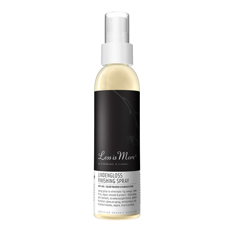 Spray brillance cheveux colorés - lindengloss finishing spray - Nuoo