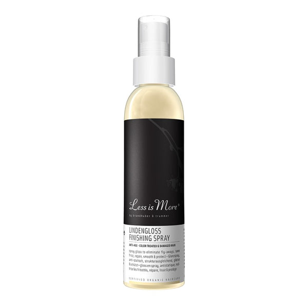 Spray brillance cheveux colorés - lindengloss finishing spray
