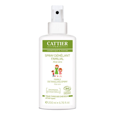 Cattier - Coiffants - Spray démêlant cheveux bio familial - Nuoo