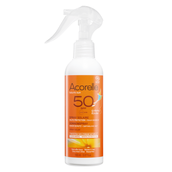 Spray solaire enfants SPF50 - Nuoo