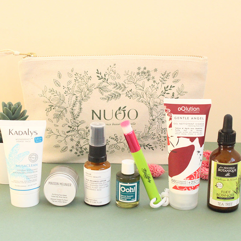 Trousse beauté bio - SOS imperfections - Nuoo