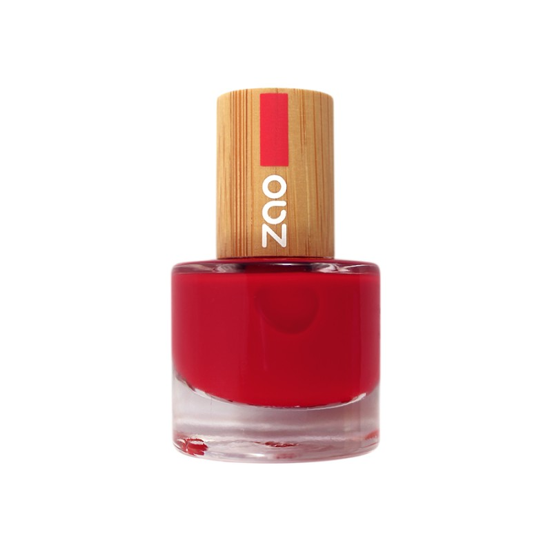 Vernis à ongles rouge carmin 605 - Nuoo