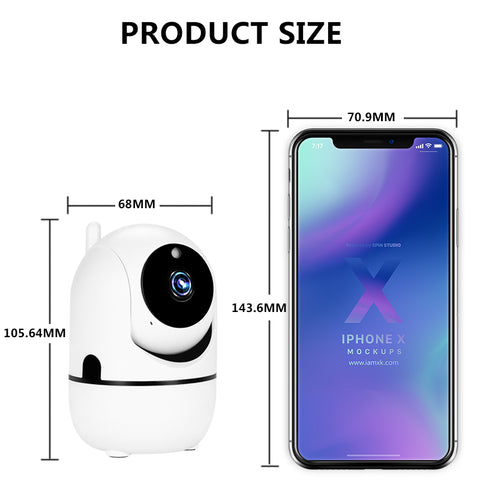 SMART WIRELESS SECURITY CAMERA