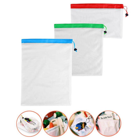 Image of Reusable Mesh Produce Bags