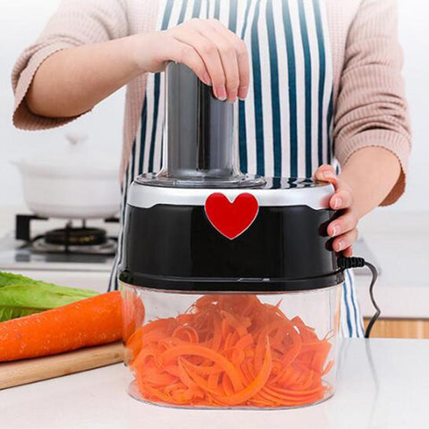Electric Spiralizer Turn Veggies Into Healthy Delicious Meals As Seen on TV