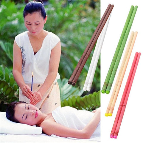 Ear Candle -Relieves Stress and Headaches 10pcs/lot