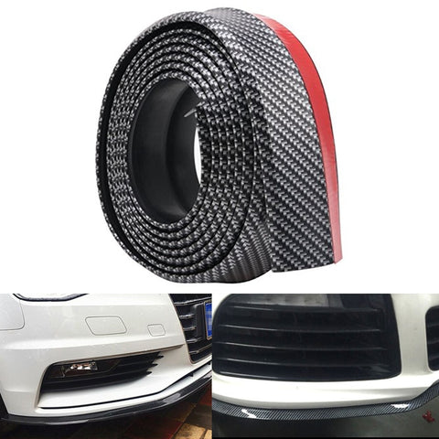 Image of Car carbon fiber front bumper