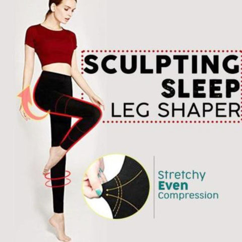 Image of Sculpting Sleep Leg Shaper