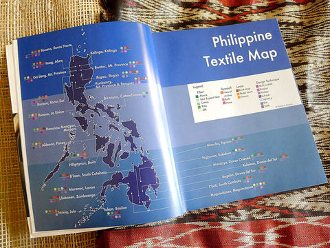 Philippine Weaving Map NARRA STUDIO