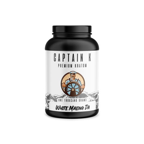 Captain K - White Maeng Da Powder (Multiple Sizes)