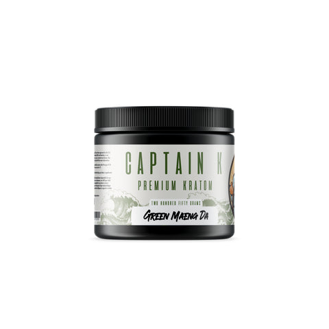 Captain K - Green Maeng Da Powder (Multiple Sizes)