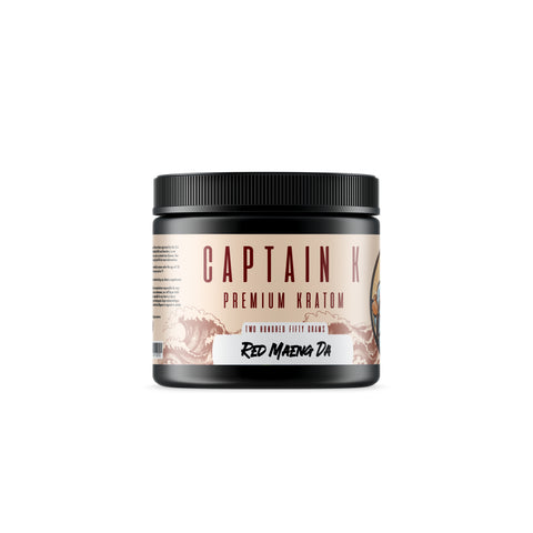 Captain K - Red Maeng Da Powder (Multiple Sizes)