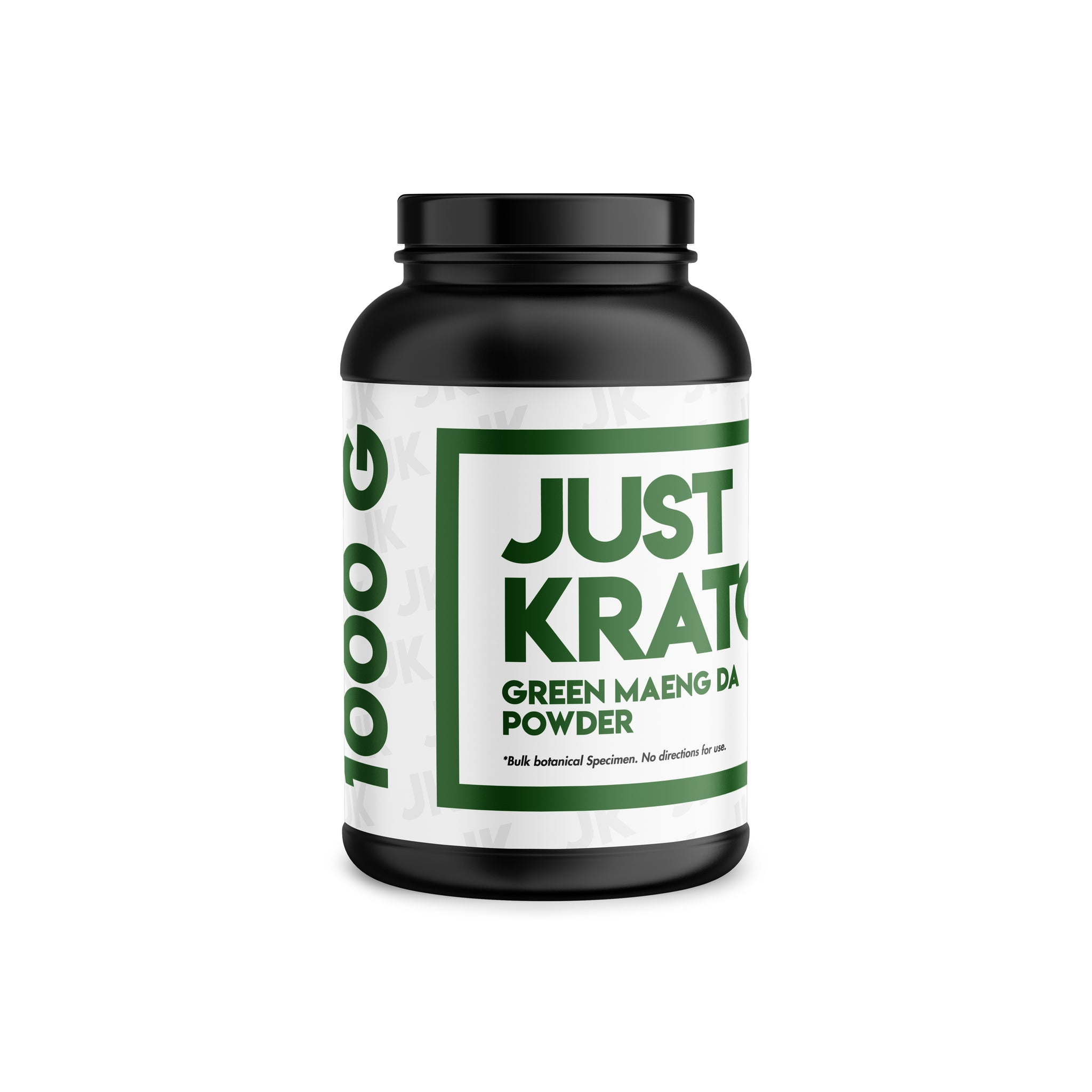 Just Kratom - Green Maeng Da Powder (Multiple Sizes)
