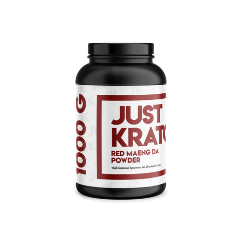 Just Kratom - Red Maeng Da Powder (Multiple Sizes)
