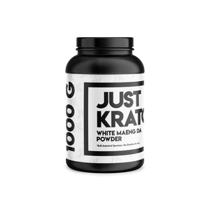 Just Kratom - White Maeng Da Powder (Multiple Sizes)