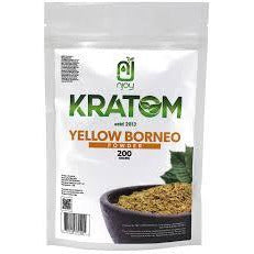 Njoy Kratom - Yellow Borneo Powder