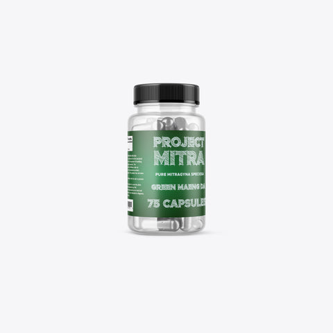 Project Mitra - Green Maeng Da Capsules (Multiple Sizes)
