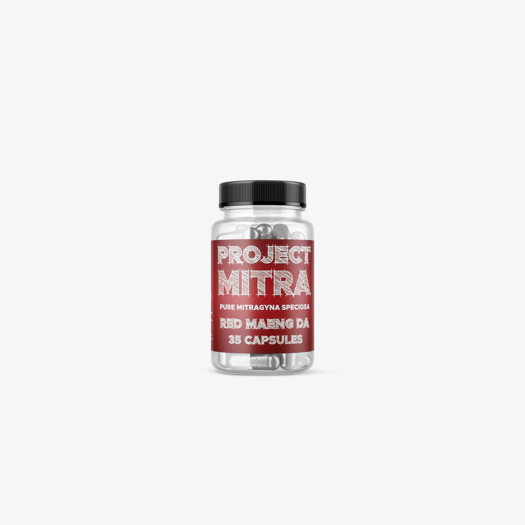 Project Mitra - Red Maeng Da Capsules (Multiple Sizes)