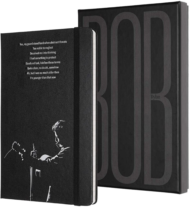Moleskine Limited Edition Bob Dylan Notebook Ruled Large Collectors Edition - Pencraft the boutique