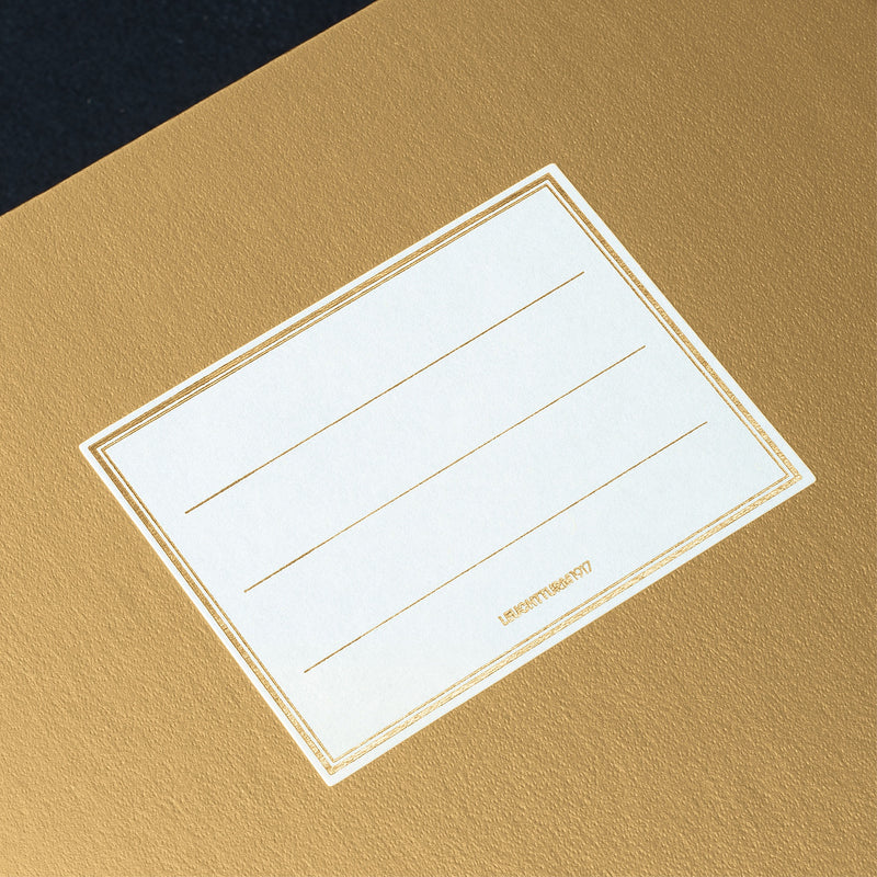Leuchtturm1917 Notebook Medium (A5) Plain Gold Special Edition - Pencraft the boutique