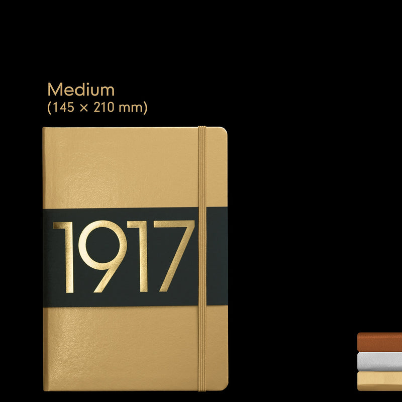 Leuchtturm1917 Notebook Medium (A5) Plain Copper Special Edition - Pencraft the boutique