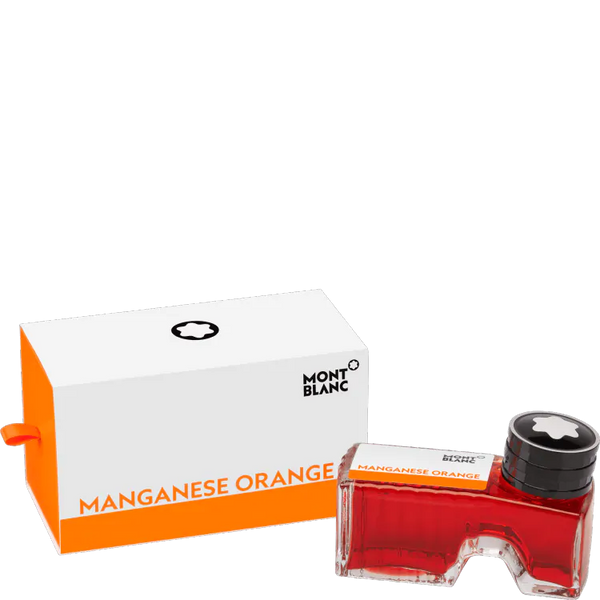 Montblanc Ink Bottle 60ml Manganese Orange - Pencraft the boutique
