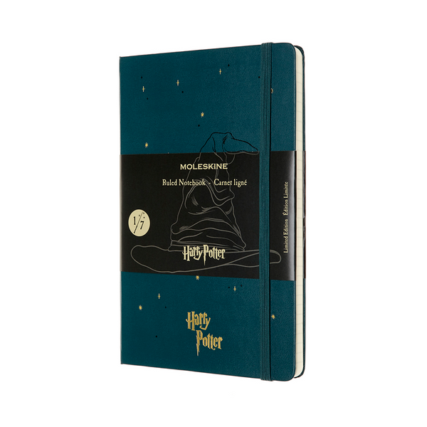 Moleskine Limited Edition Harry Potter Notebook Ruled Large Sorting Hat - Pencraft the boutique