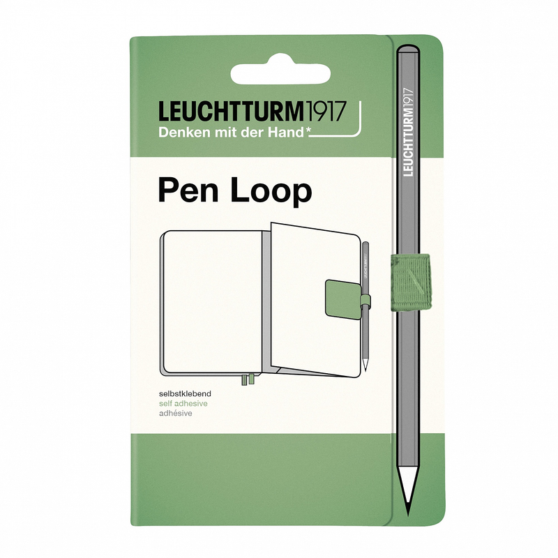 Leuchtturm1917 Pen Loop Sage - Pencraft the boutique